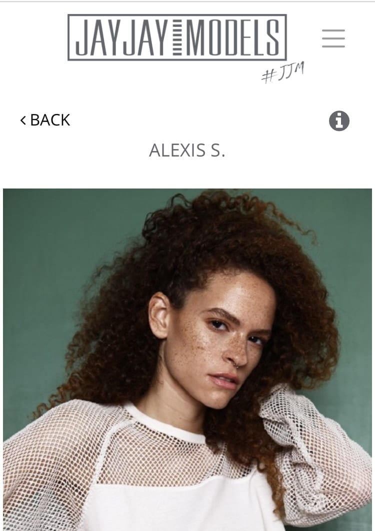 Alexis signed with Berlin Model Agency!